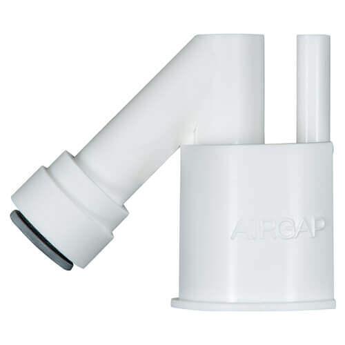 Airgap/Afvoerconnector 3/8 (Aquacell) (per stuk)