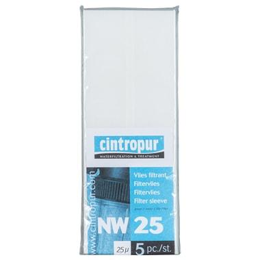 Cintropur filtervlies 25 micron set 5 stuks